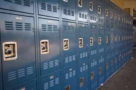 Lockers Stockfoto