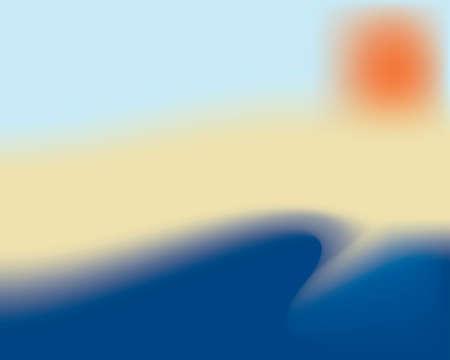 Beach Иллюстрация