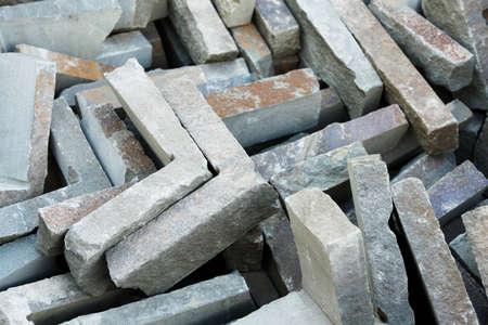 Stone Corners Stockfoto
