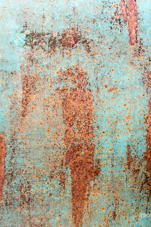 Grunge metal texture background. Old painted rusty surface.