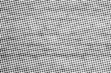 Abstract monochrome halftone pattern background.