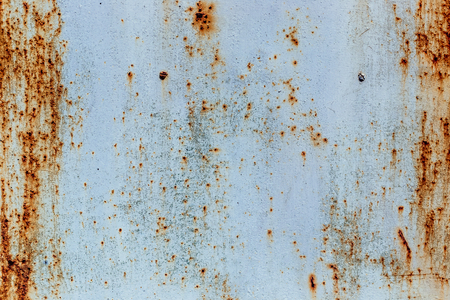 Old rusty white metal background