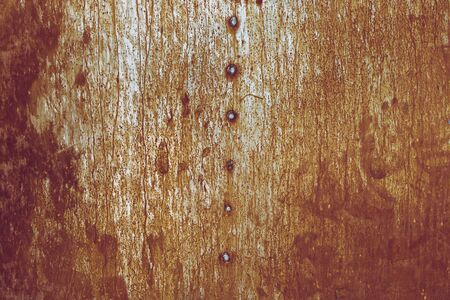 Scratched metal surface background for design.