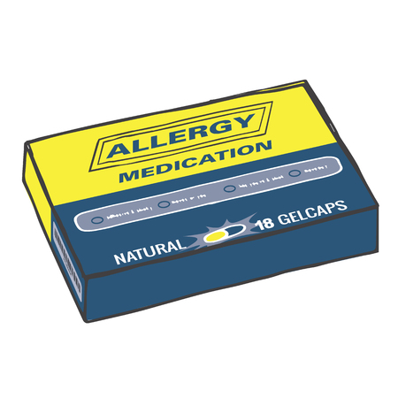 allergies: Allergy Medication for when you Get Itchy, Watery Eyes, Sneeze, and Cough from Seasonal Allergies. The Capsules, Gel Tabs, or Tablets will Make Feel Healthy and Strong. The Drug Relieves Alergies!