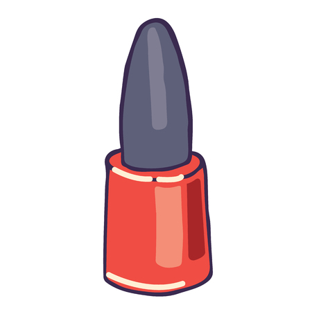 fingernail: Just Some Nail Polish. You Can Use This Fingernail Polish in Infographics and Stuff
