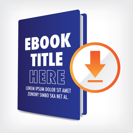 Download the Whitepaper or Ebook Graphics with Replaceable Title, Cover, and CTAs with Call to Action Buttons.  Whitepapers and E-books have a Similar Purpose in the Marketing World. 版權商用圖片 - 56187329