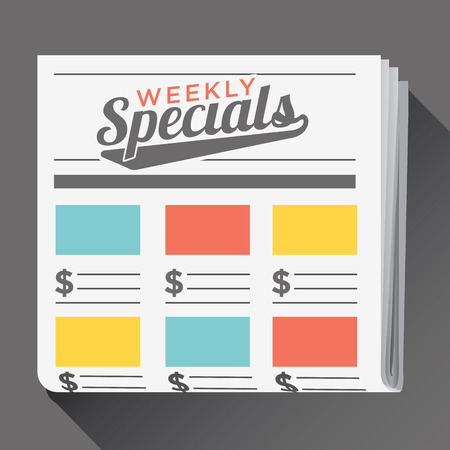 penny pinching: Download or View Our Online Weekly Sale Ad Flyer Circular Icon Image Illustration