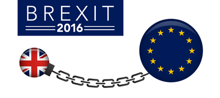 BREXIT UK Referendum Vector Graphic Header