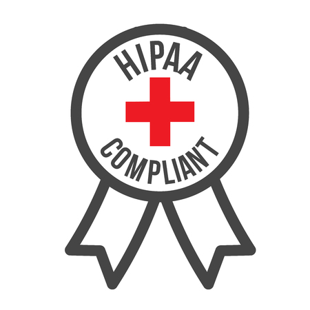 compliance: HIPAA Compliance Icon Graphic Illustration