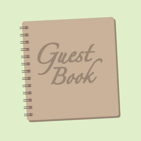 appointment book: Spiral bound guestbook