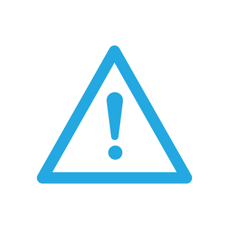 error message: Error Message Icon with Exclamation Mark