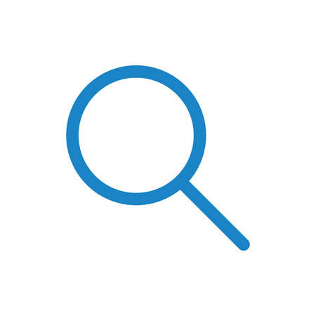 nav: Adjustable Stroke Magnifying Glass - Search Icon