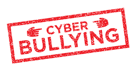 Cyber Bullying Graphic Stamp