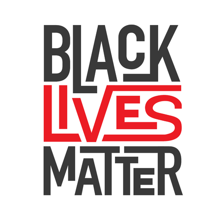 Black Lives Matter Typography