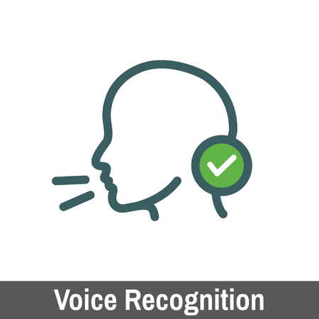 biometric: Biometric Scanning - Voice Recognition Scanning Illustration