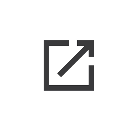 mobile website: External Link Icon - user will know theyre leaving the app to visit an external website