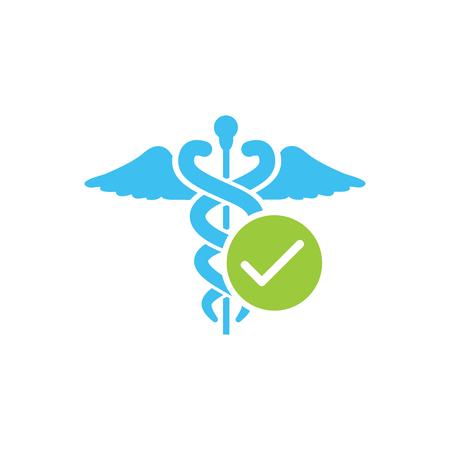 HIPAA コンプライアンス アイコン グラフィック - 承認  イラスト・ベクター素材