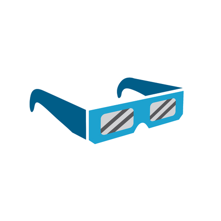 Eclipse glasses to safely view the total solar eclipse