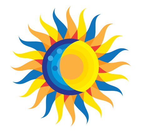 Total Solar Eclipse Icon August 21st, 2017