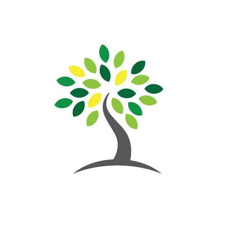 Ancestry  Genealogy Icon w Family Tree Ilustração