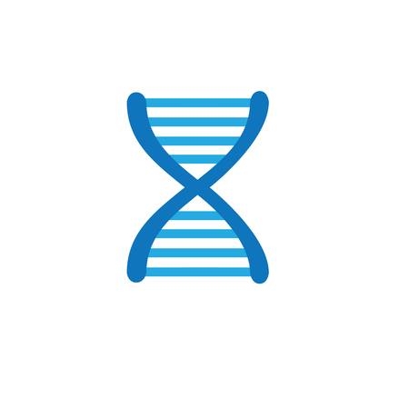 Ancestry or Genealogy Icon DNA helix for medical records