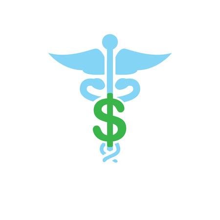 Costi e spese sanitarie che mostrano un concetto di costosa assistenza sanitaria