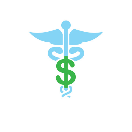 Healthcare costs and expenses showing a concept of expensive health care