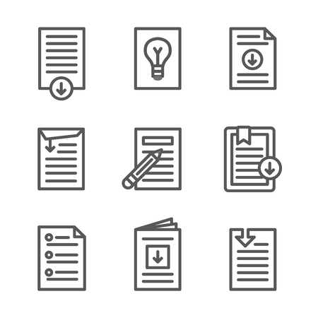 Whitepaper - Download Icon Button Set