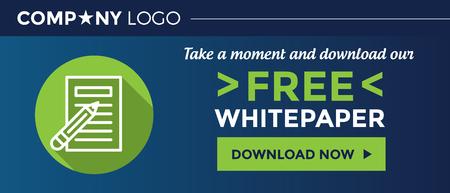 ウェブサイトの私たちの無料のホワイト ペーパーのグラフィック バナーをダウンロードします。