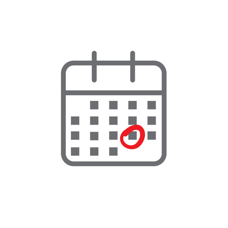 Calendar image with specific date