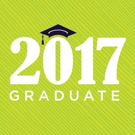 Class of 2017 Congratulations Graduate - Typography