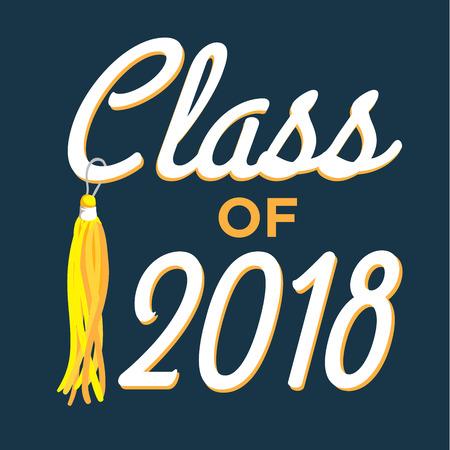 Class of 2018 - Congratulations Graduate Typography