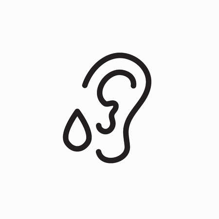 Ear drops for tinnitus or hearing loss