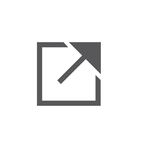 External Link Icon with Arrow showing the user that they will leave app