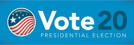 Election header banner Vector illustration. Ilustrace