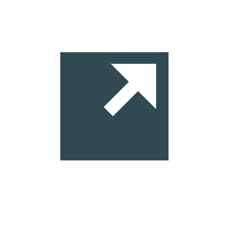 External Link Icon w arrow and box pointing