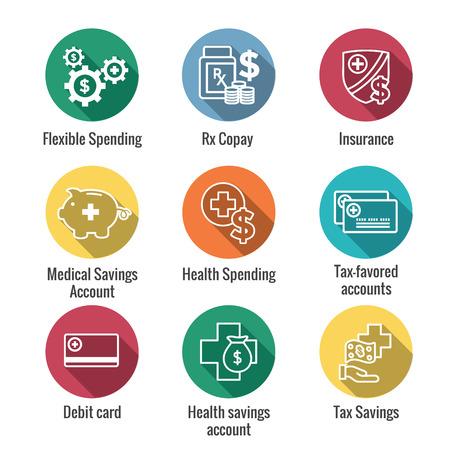 Medical Tax Savings w Health savings account or flexible spending account - HSA, FSA, tax-sheltered savings
