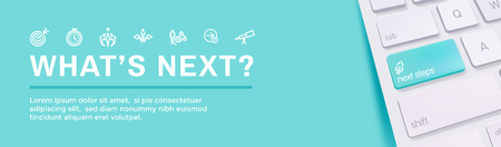 Whats Next Header Web Banner showing - Next Big Idea