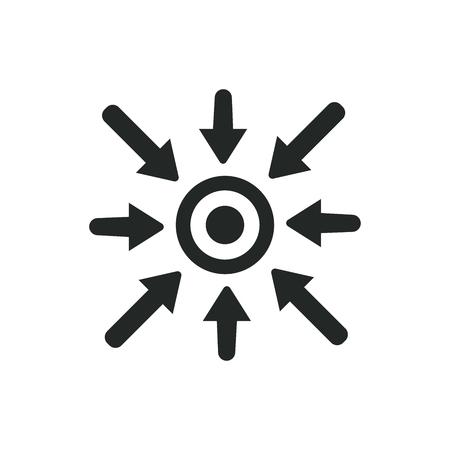 Specific Icon -Showing Choice: Specific keywords Idea Vettoriali