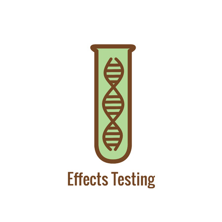 Drug Testing & Safety Approval Icon Vector Graphic with Rounded Edges Banque d'images - 112993067
