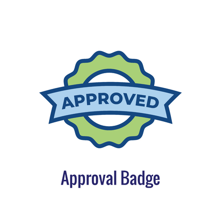 Drug Testing & Process Icon Vector Graphic with Rounded Edges 写真素材 - 112703040