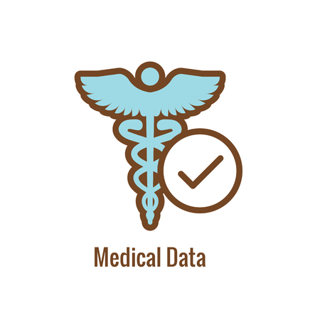 Drug Testing & Safety Approval Icon Vector Graphic with Rounded Edges 写真素材 - 114376513
