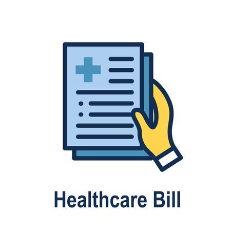 Gesundheitsgesetze und rechtliche Icon-Set   verschiedene Aspekte des Rechtssystems