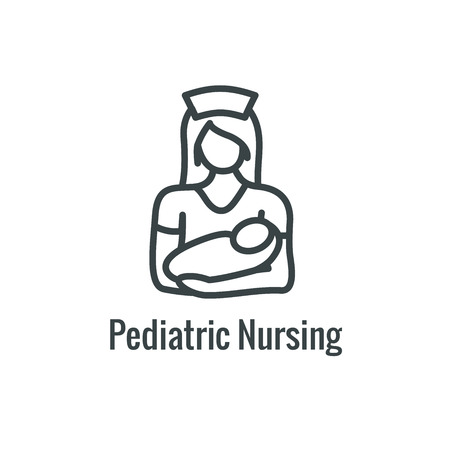 Pediatric Medicine w Baby or Pregnancy Related Icon