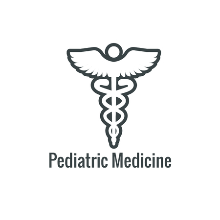 Pediatric Medicine w Baby or Pregnancy Related Icon Ilustracja