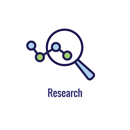 New Business Process Icon , Research phase