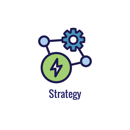 New Business Process Icon, Strategy phase