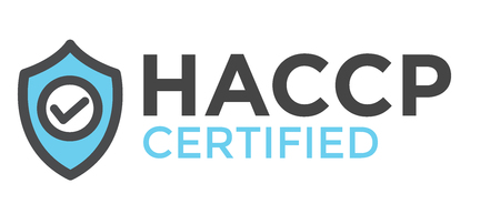 HACCP | Hazard Analysis Critical Control Points icon with award or checkmark