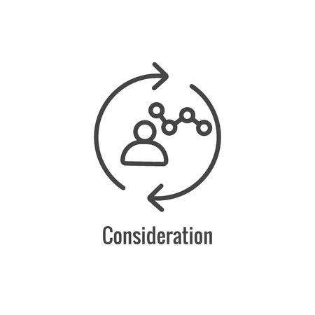 New Business Process Icon | Consideration phase