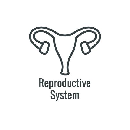Pediatric Medicine w Baby or Pregnancy Related Icon Illustration